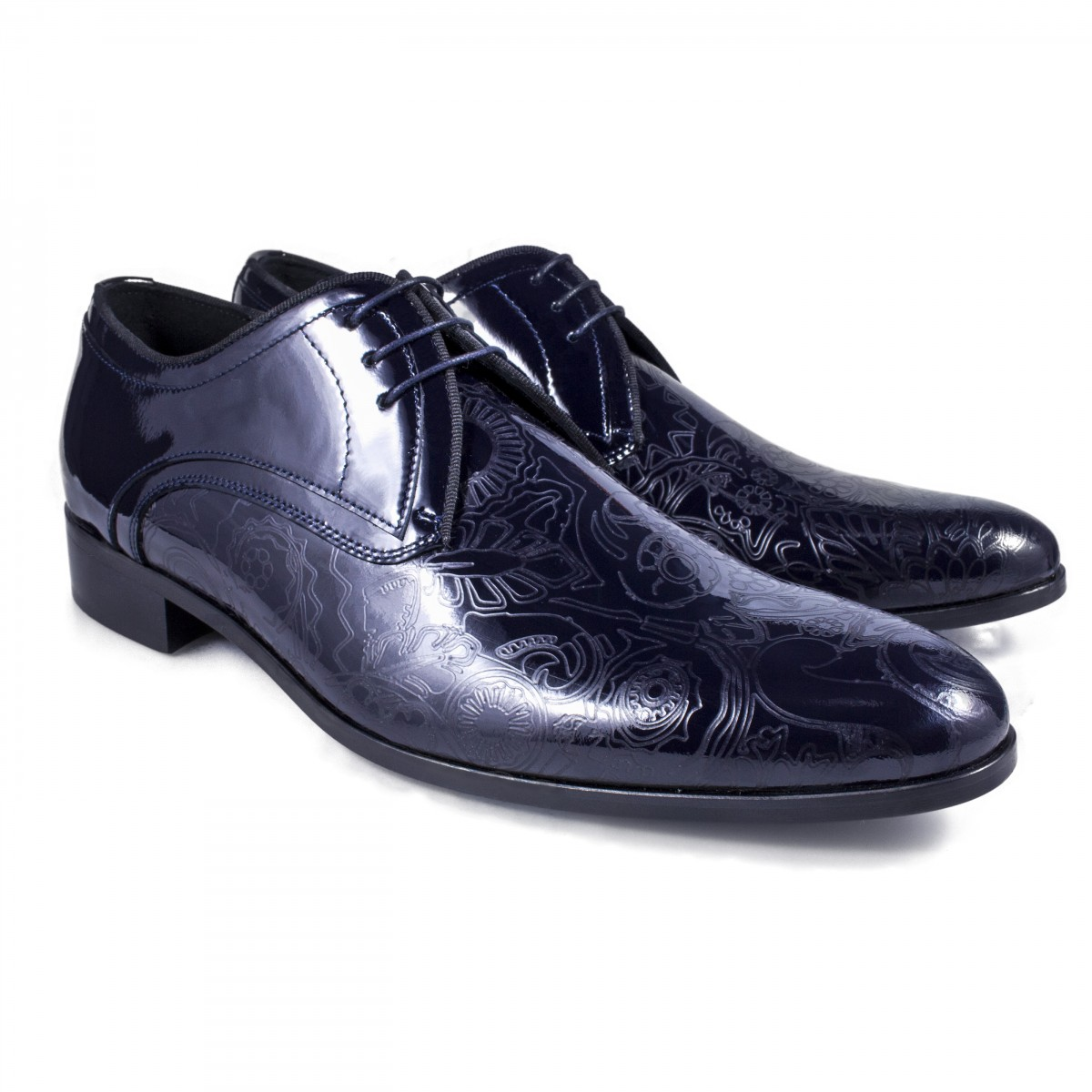 Scarpe Matrimonio Uomo Blu : Scarpe eleganti da uomo blu cerimonia sposo